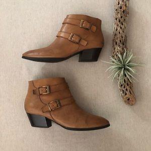 Franco Sarto Quartet Ankle Boots sz 9.5